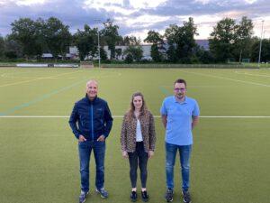 Das Team der Kassenprüfer*innen (v.l.n.r): Rolf Kübeler, Michaela Klausmann, Christian Hauser